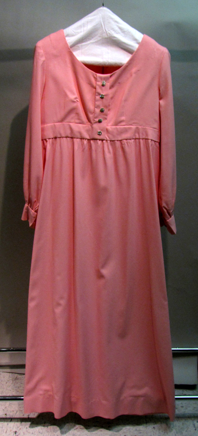 Pink Prom Dress 1969 Cape Fear Museum New Hanover County
